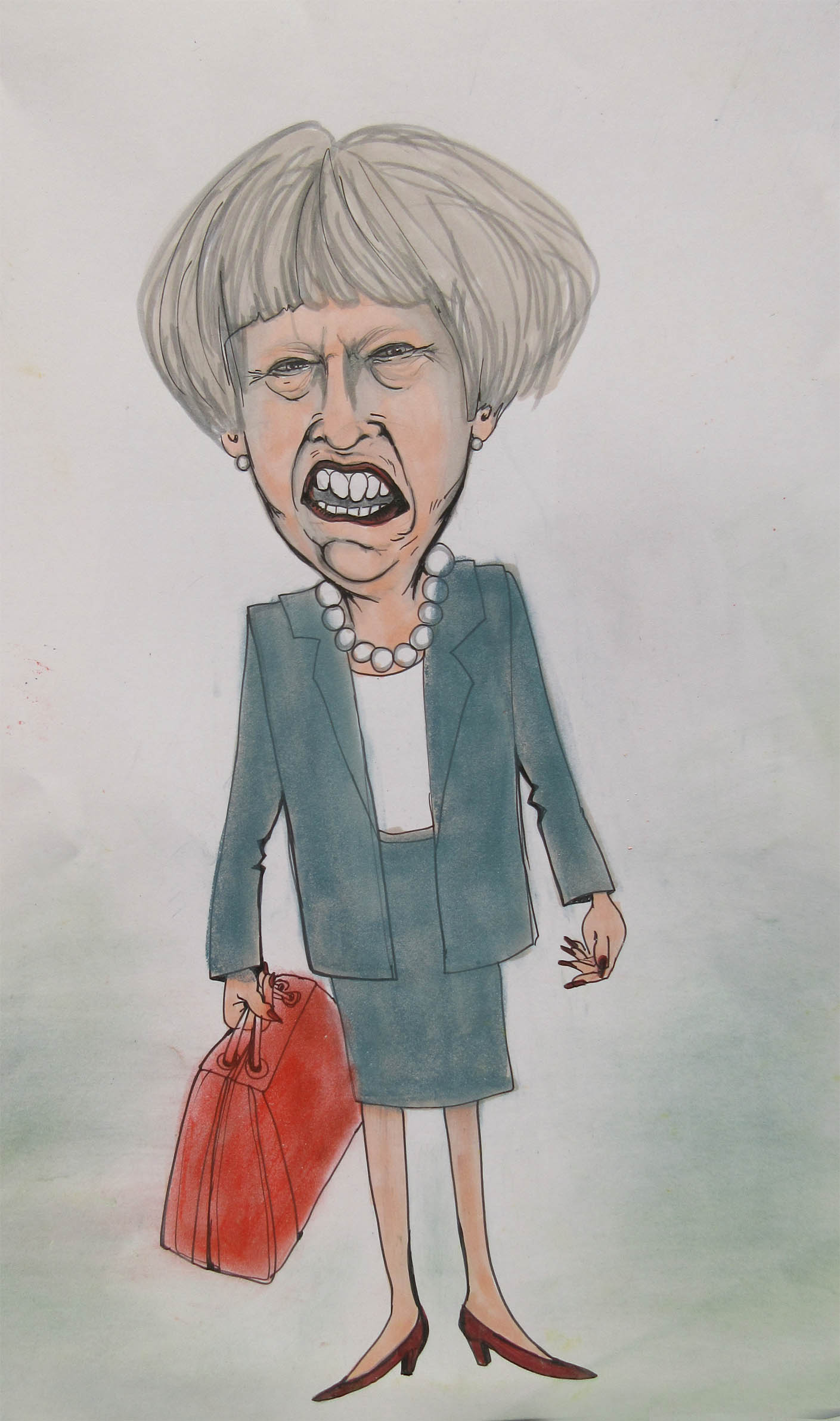THERESA_MAY -Alice Snerle Lassen - www.allustrations.com