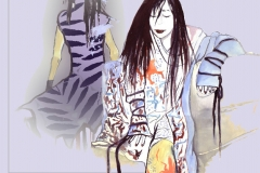 Fashion drawing - Alice Snerle Lassen - www.allustrations.com