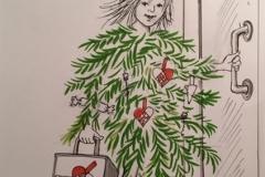 Happy New year - Alice Snerle Lassen - www.allustrations.com