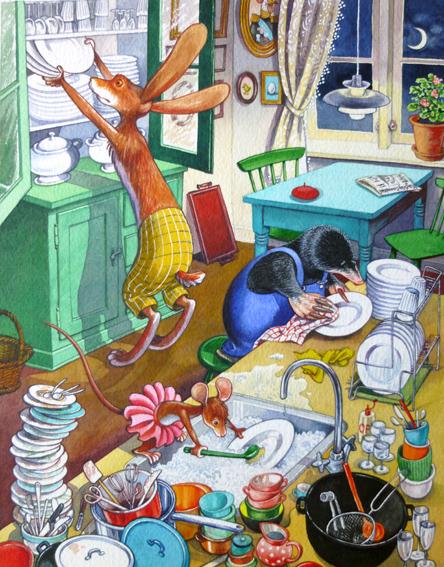 Kylles opvask