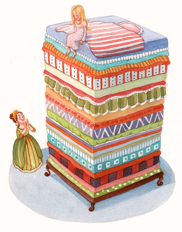 Illustration til H.C.Andersen. People´s Press