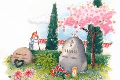 Illustration til Folkekirkens Skoletjeneste