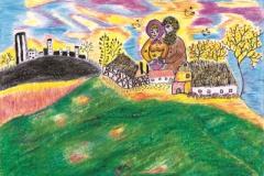 Bedstefar og bedstemor flytter på landet