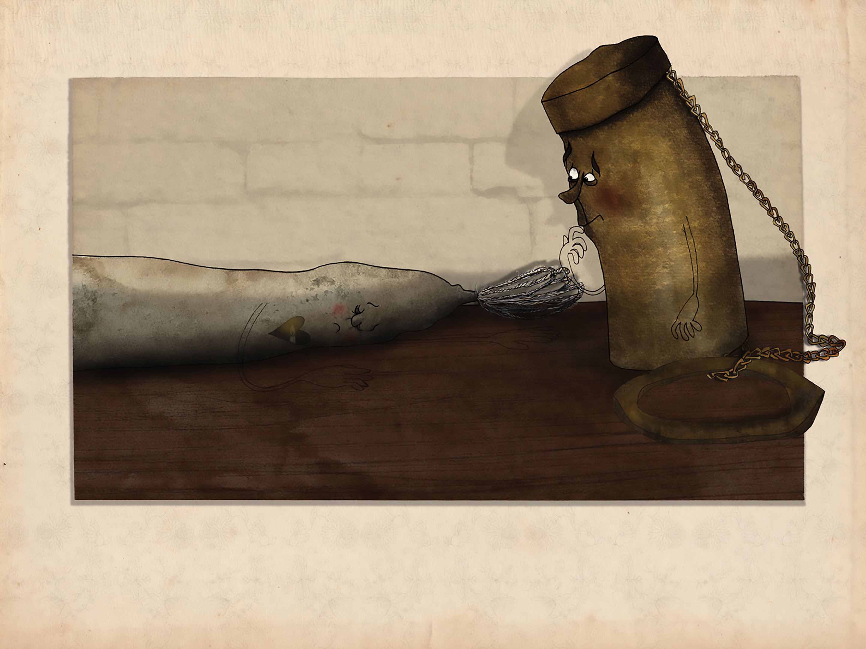 The tallow candle 21 - Anja Gram