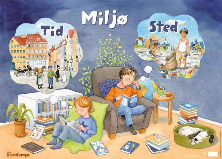 Plakat. Gyldendal Uddannelse