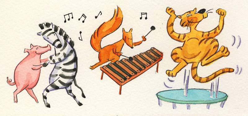 Dyr danser Lav