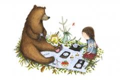 Skovtur med bjørn