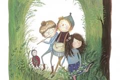 Venner i skoven